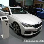 BMW 7 Series 730Ld MSport front three quarters at 2016 Thai Motor Expo
