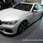 BMW 7 Series 730Ld MSport front three quarters left side at 2016 Thai Motor Expo