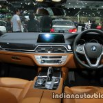 BMW 7 Series 730Ld MSport interior dashboard at 2016 Thai Motor Expo