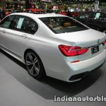 BMW 7 Series 730Ld MSport rear three quarters at 2016 Thai Motor Expo