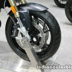 BMW F800R front wheel at Thai Motor Expo