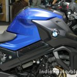 BMW F800R fuel tank at Thai Motor Expo