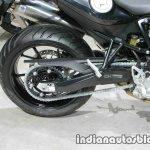 BMW F800R rear wheel at Thai Motor Expo