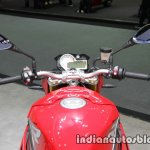 BMW S1000R handlebar at Thai Motor Expo