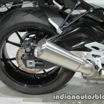 BMW S1000R rear wheel at Thai Motor Expo