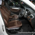 BMW X1 sDrive18d M Sport front seats at 2016 Thai Motor Expo
