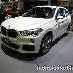 BMW X1 sDrive18d M Sport front three quarters at 2016 Thai Motor Expo