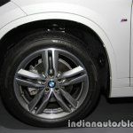 BMW X1 sDrive18d M Sport wheel at 2016 Thai Motor Expo
