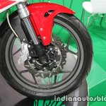 Benelli Tornado 302 front wheel at Thai Motor Expo