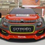 Citroen WRC C3 concept front at 2016 Bologna Motor Show