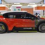 Citroen WRC C3 concept profile at 2016 Bologna Motor Show