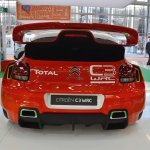 Citroen WRC C3 concept rear at 2016 Bologna Motor Show