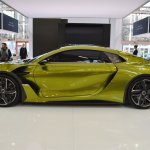 DS e-tense concept profile at 2016 Bologna Motor Show