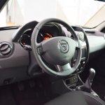 Dacia Duster Black Shadow interior at 2016 Bologna Motor Show