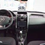 Dacia Duster Black Shadow interior dashboard at 2016 Bologna Motor Show