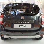 Dacia Duster Black Shadow rear at 2016 Bologna Motor Show