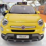 Fiat 500X front at 2016 Bologna Motor Show
