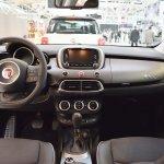 Fiat 500X interior dashboard at 2016 Bologna Motor Show