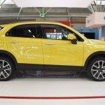 Fiat 500X profile at 2016 Bologna Motor Show