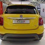 Fiat 500X rear at 2016 Bologna Motor Show