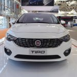 Fiat Tipo Hatchback front at 2016 Bologna Motor Show
