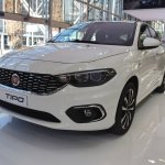 Fiat Tipo Hatchback front three quarters at 2016 Bologna Motor Show