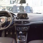 Fiat Tipo Hatchback interior dashboard at 2016 Bologna Motor Show
