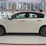 Fiat Tipo Hatchback profile at 2016 Bologna Motor Show