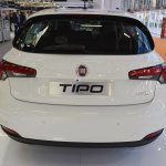 Fiat Tipo Hatchback rear at 2016 Bologna Motor Show