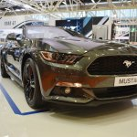 Ford Mustang Convertible front three quarters at 2016 Bologna Motor Show