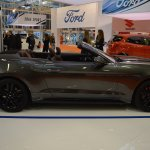 Ford Mustang Convertible right side at 2016 Bologna Motor Show