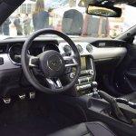 Ford Mustang interior at 2016 Bologna Motor Show