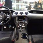 Ford Mustang interior dashboard at 2016 Bologna Motor Show