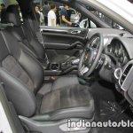 Ford Ranger Hi-Rider FX4 front seats at 2016 Thai Motor Expo