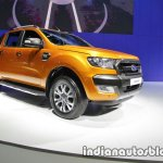Ford Ranger Wildtrak front three quarters at 2016 Thai Motor Expo