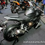 Honda CBR 500R rear three quarter at Thai Motor Expo