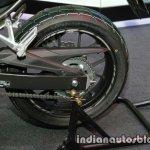 Honda CBR 500R rear three quarter rear wheel at Thai Motor Expo