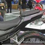 Honda CBR 500R rear three quarter seats at Thai Motor Expo