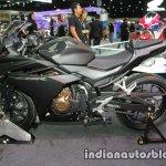 Honda CBR 500R rear three quarter side right at Thai Motor Expo