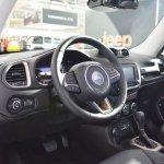 Jeep Renegade Desert Hawk interior at 2016 Bologna Motor Show