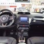 Jeep Renegade Desert Hawk interior dashboard at 2016 Bologna Motor Show