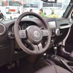 Jeep Wrangler Rubicon interior at 2016 Bologna Motor Show