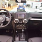 Jeep Wrangler Rubicon interior dashboard at 2016 Bologna Motor Show