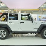 Jeep Wrangler Rubicon profile at 2016 Bologna Motor Show