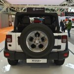 Jeep Wrangler Rubicon rear at 2016 Bologna Motor Show