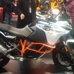 KTM 1090 Adventure R side at New York IMS
