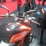 KTM Duke 390 handlebar at New York IMS live