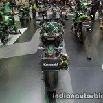 Kawasaki H2 rear at Thai Motor Expo