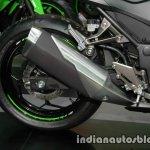 Kawasaki Ninja 300 KRT Winter Test exhaust at Thai Motor Expo