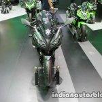 Kawasaki Ninja 300 KRT Winter Test front at Thai Motor Expo